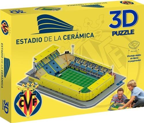 Villarreal - De La Ceramica 3D Puzzel (98 stukjes)