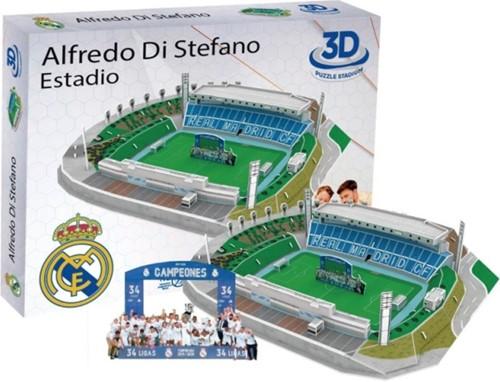 Real Madrid - Alfredo Di Stefano 3D Puzzel (98 stukjes)