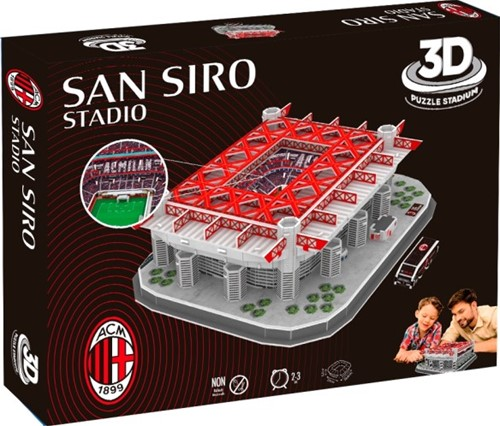 AC Milan - San Siro 3D Puzzel (98 stukjes)