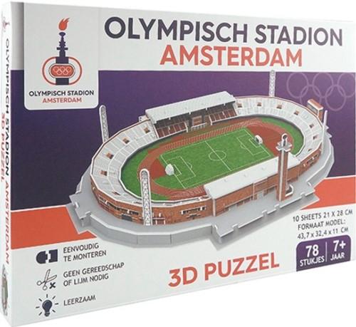 Amsterdam Olympisch Stadion 3D Puzzel (78 stukjes)