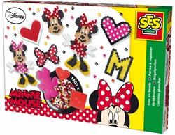 SES Disney Minnie Mouse Strijkkralenset Grote Doos