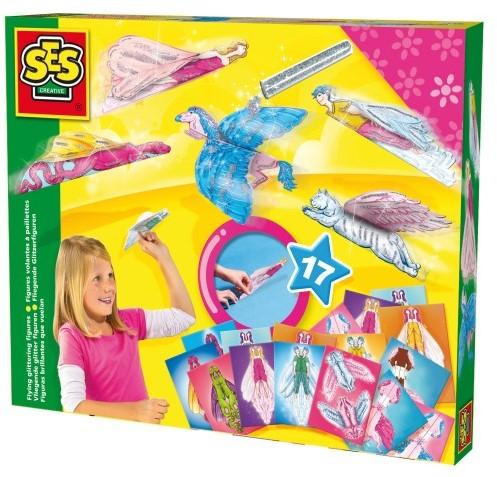 SES Vliegende Glitter Figuren