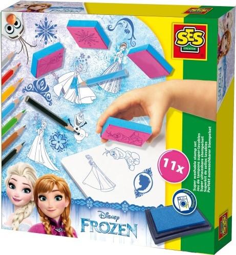 SES - Stempelset Frozen-1