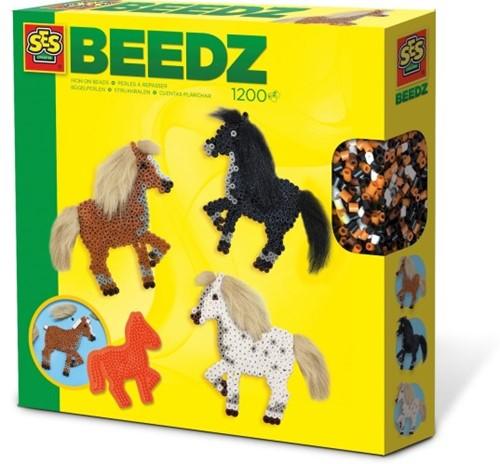 SES - Beedz Strijkkralen Paarden met Manen
