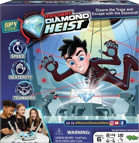 Diamond Heist - Kinderspel