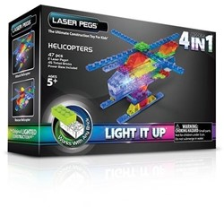 Laser Pegs - 4 in 1 Helicopter