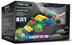 Laser Pegs - 8 in 1 Sports Car