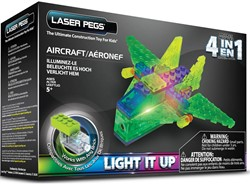 Laser Pegs - 4 in 1 Aircraft