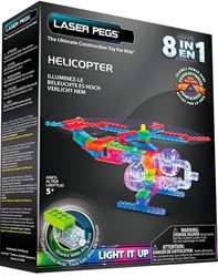 Laser Pegs - 8 in 1 Helicopter