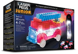 Laser Pegs Junior - 3 in 1 Rescue