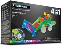 Laser Pegs - 4 in 1 Mini Bulldozer