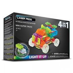 Laser Pegs - 4 in 1 Mini Super Truck