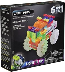 Laser Pegs - 6 in 1 Monster Truck