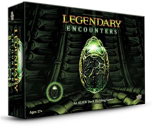 Legendary Encounters - Alien Deck Building Game