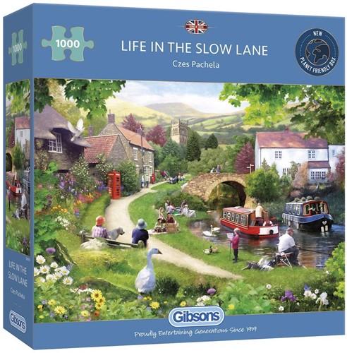 Life in the Slow Lane Puzzel (1000 stukjes)