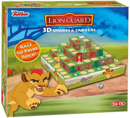 Lion Guard - 3D Snakes & Ladders