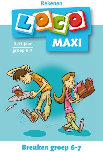 Loco Maxi Boekje - Breuken Groep 6-7