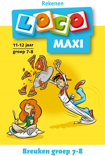 Loco Maxi Boekje - Breuken Groep 7-8