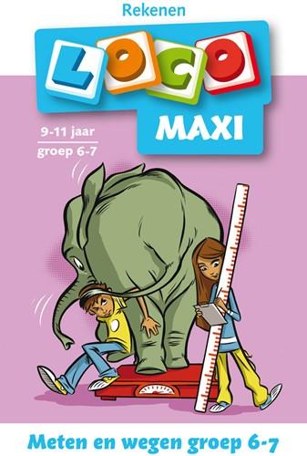 Loco Maxi Boekje - Meten en Wegen Groep 6 - 7