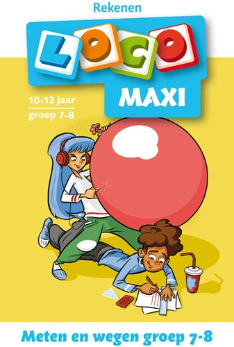 Loco Maxi Boekje - Meten en Wegen Groep 7-8