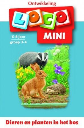 Loco Mini Boekje - Dieren en Planten in het Bos