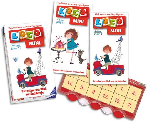 Loco Mini - Puzzelen met Pluk en Floddertje Pakket-1