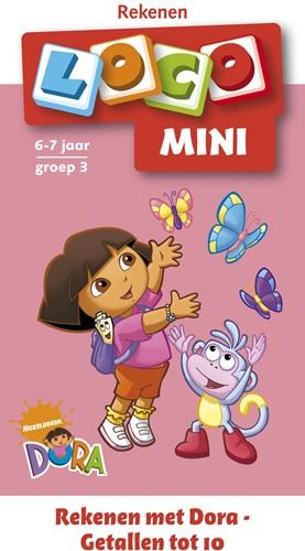 Loco Mini Boekje - Rekenen Met Dora - Getallen Tot 10