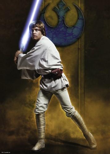 Star Wars - Luke Skywalker Puzzel (1000 stukjes)-2