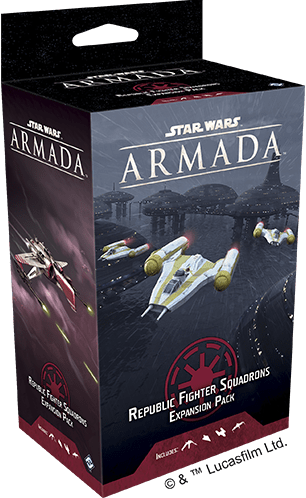 Star Wars Armada - Republic Fighter Squadrons