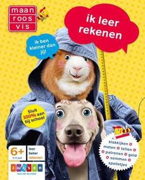Maan Roos Vis - Ik Leer Rekenen