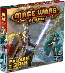Mage Wars Arena - Paladin vs Siren Expansion