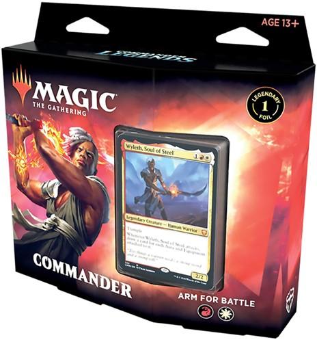 Magic The Gathering - Commander Legends Commander Deck Arm for Battles