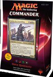 MTG Commander 2016 - Open Hostility