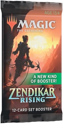 Magic The Gathering - Zendikar Rising Set Boosterpack