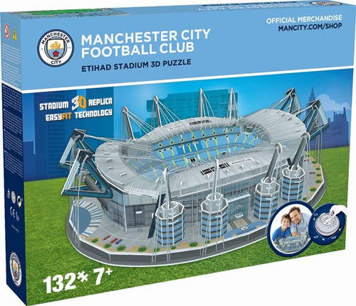 Manchester City - Etihad Stadium 3D Puzzel (132 stukjes)