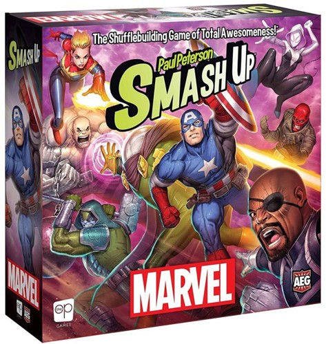 Smash Up - Marvel