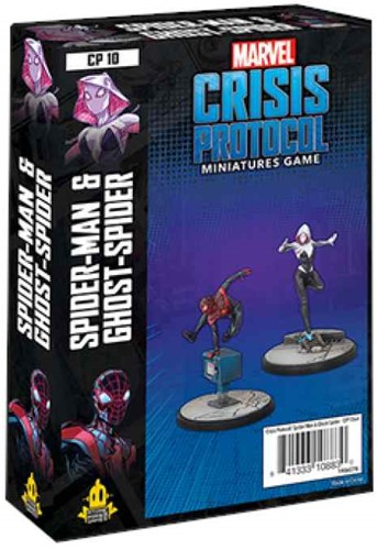 Marvel Crisis Protocol - Ghostspider and Spiderman