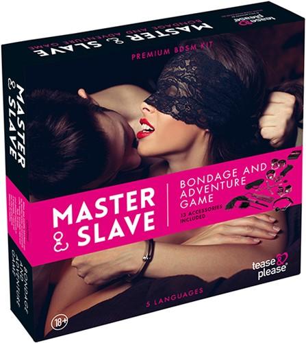 Master & Slave - Bondage Game Magenta (NL)-1