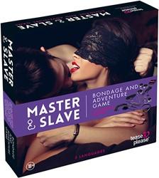 Master & Slave - Bondage Game Paars (NL)