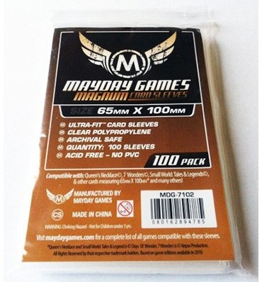 Magnum Sleeves - Ultra Fit (65x100 mm)