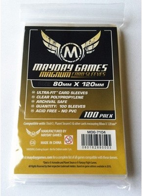 Magnum Sleeves - Ultra Fit (80x120 mm)
