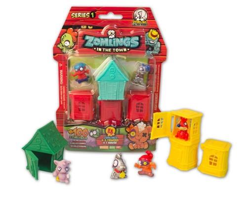 Zomlings Series 1 - Blister House