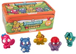 Zomlings Series 1 - Tin Z-Games