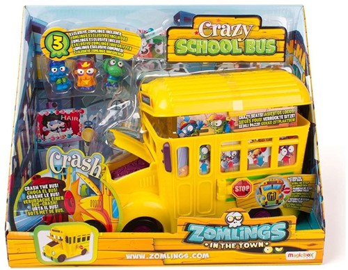Zomlings Series 1 - Crazy School Bus