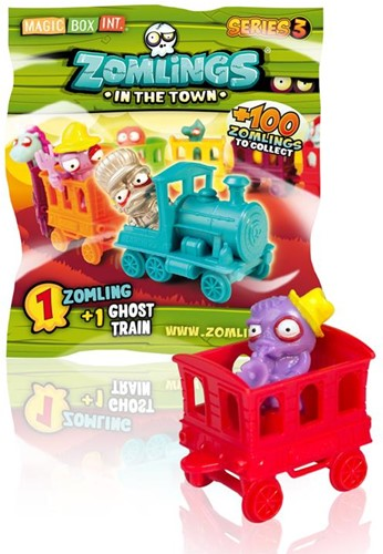 Zomlings Series 3 - Ghost Train