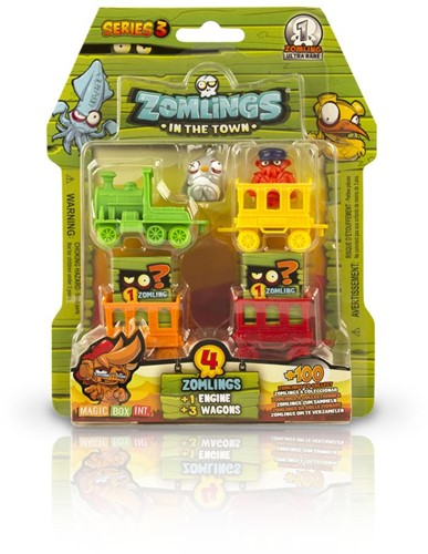 Zomlings Series 3 - Blister Ghost Train