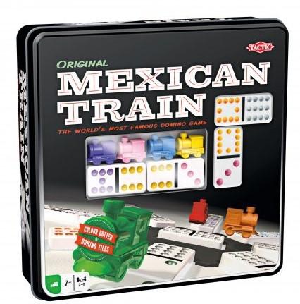 Mexican Train - Origineel in Blik (Blik ingedeukt)