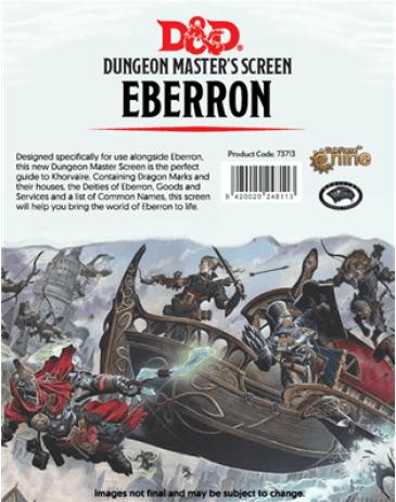 Dungeon & Dragon - DM Screen Eberron