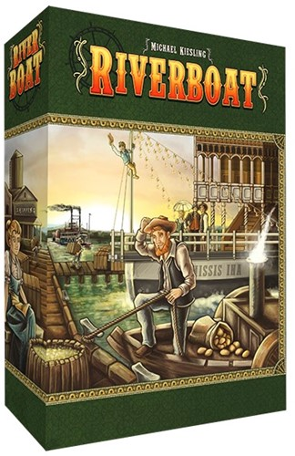 Riverboat - Bordspel