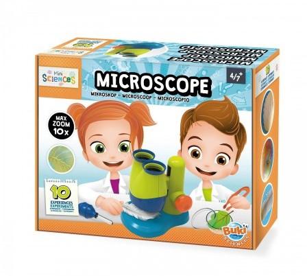 Mini Sciences - Microscoop (10 Experimenten)-1